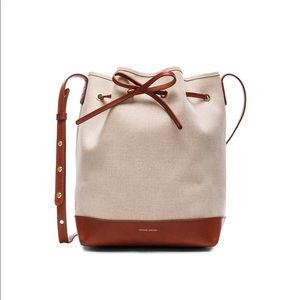 Mansur Gavriel canvas mini bucket bag